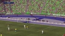 Pro Evolution Soccer 2015 FIFA WORLD CUP  ALGERIA vs BRAZIL