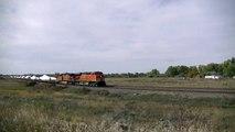 BNSF Wind Turbine Blade Train, CSX Power, Amtrak Charter and More!!