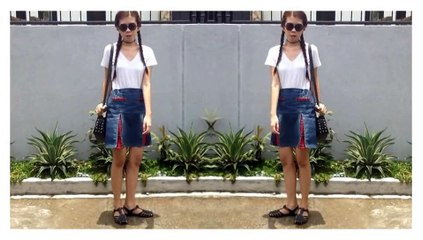 OOTD Episode 4: 90's Inspired Outfit | Yzabelle Provido
