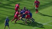 TOP14 - Grenoble  - Toulon: Essai Nigel Hunt (GRE) - J22 - Saison 2014/2015