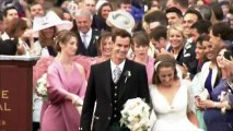 Andy Murray s'est marié chez lui en Ecosse vêtu d'un kilt