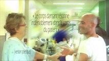 Danseur et chorégraphe Sylvain Groud au Centre hospitalier de l'Université de Montréal