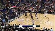 Anthony Davis Takes Elbow _ Suns vs Pelicans _ April 10, 2015 _ NBA Season 2014_15