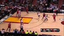 Taj Gibson Misses Easy Dunk _ Bulls vs Heat _ April 9, 2015 _ NBA Season 2014_15