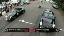 Porsche 911 Turbo vs Porsche 911 GT2
