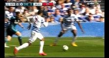 Fàbregas goal - Queens Park Rangers 0:1 Chelsea   12.04.2015
