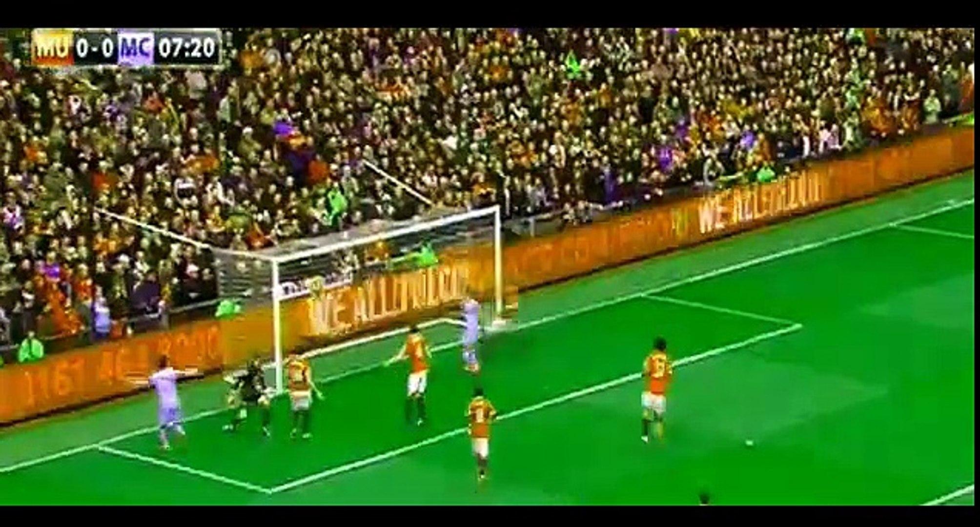 Kun Aguero goal - Manchester United 0-1 Manchester City | 12.04.2015