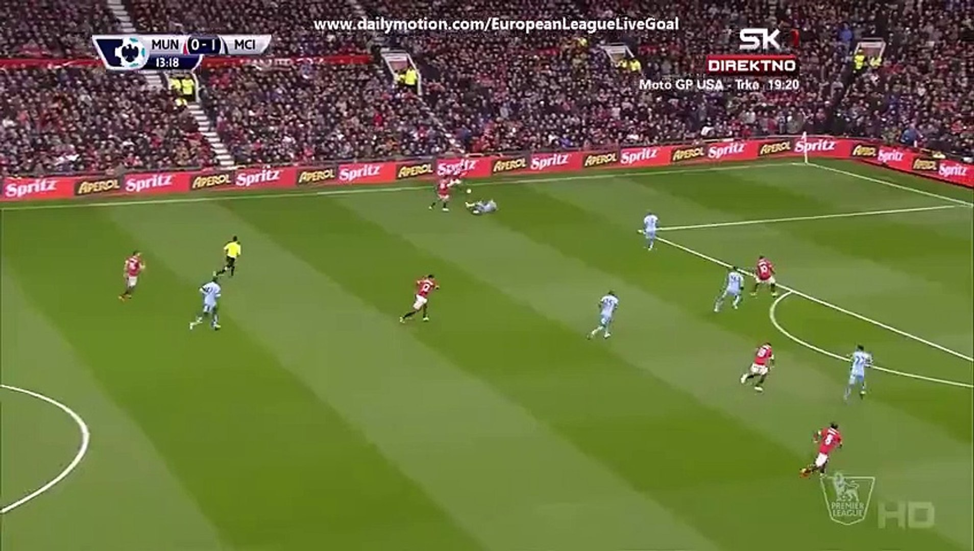 Ashley Young 1_1 _ Manchester United – Manchester City 12.04.2015 HD