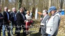 Lancement du circuit du Centenaire à Coucy-le-Château