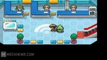 Pokemon Wifi Battle - 1 - Blame Truth vs  MTG Xerxes (Mixed