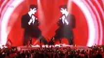 "Ireland: ""Lipstick"", Jedward - Eurovision Song Contest Semi Final 2011 - BBC Three"