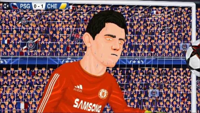 Chelsea 2-2 PSG Champions League 11_3_15 Parodia