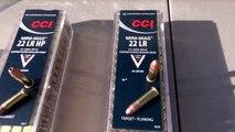 CCI .22 LR CLEAR GEL AMMO TEST