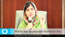 Malala Has an Asteroid Named for Her