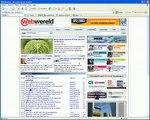 Eyetracking video Webwereld
