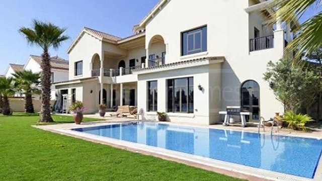 D Frond  Barhi Villas    Gallery View Type  Balcony w/ Burj Al Arab  amp  Sea View  Landscaped Garden