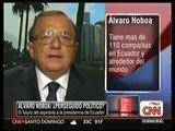 Entrevista de Álvaro Noboa con Fernando Rincón en CNN [4-Octubre-2012]