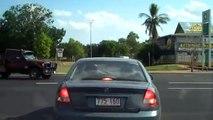 Driving through Katherine, Australia on my way to the Katherine gorge