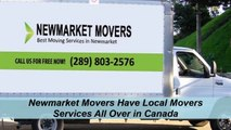 Newmarket Movers : Get A Moving Quote