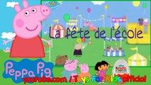 Peppa Pig - Cochon En Français 9 La Fête de l'école - The School Fete