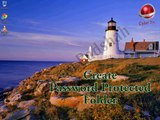 Create Password Protected Folder using Notepad