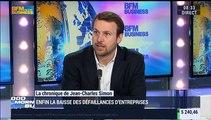 """Jean-Charles Simon: """"Depuis 3 mois, on voit le niveau de défaillance d'entreprises légèrement s'infléchir"""" - 13/04"""