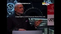 PM Narendra Modi pitches for 'Make in India' at Hannover fair in Germany