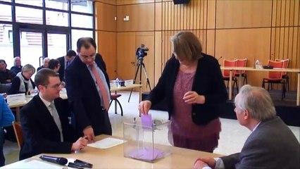 Élection du Président du conseil départemental de la Haute-Marne