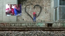 Ella + Pitr : les amoureux du street art qu'on admire avec un drône