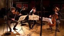 Messiaen : Quatuor pour la fin du Temps (extrait) par le Quatuor Messiaen