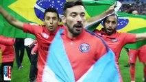 Champions mon frère : Marquinhos et Lucas (coupe de la ligue 2015)