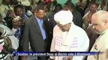Soudan: le président Omar el-Béchir vote à Khartoum