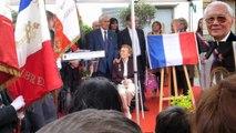 4 Inauguration de la place Jean TRANAPE à Rueil-Malmaison le 11 avril 2015 - La plaque est dévoilée.