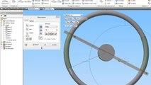 Autodesk Inventor 2014 Tutoriel en français (le volant) + lien utile activation