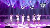 [K-POP] A Pink - LUV + White Winter(EunJi & Lee SeJoon) (Open Concert 20141207) (HD)