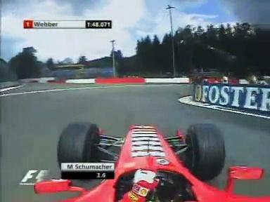 F1 2005 Spa  M Schumacher  Quali Lap