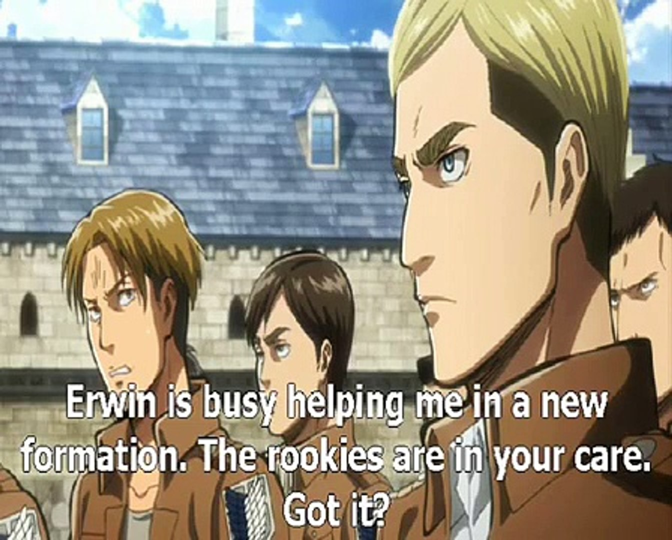 Attack On Titan 進撃の巨人 - A choice with no regrets 2 Part 1 (Eng Subtitles)