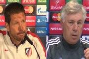 Todo listo para el Atlético de Madrid vs Real Madrid