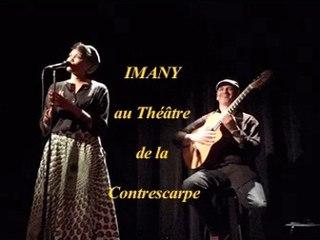 Imany au Théâtre de la Contrescarpe