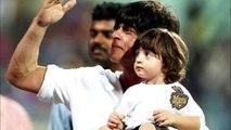 Shah Rukh Khan's Son AbRam Watches His First IPL Match