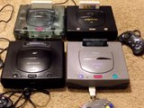 Sega Saturn Console Collection- Hi-Saturn, V-Saturn, Derby Stallion Clear, North American Saturn