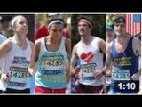 Marathon: Des joggeurs ont été pris courant le marathon avec des numéros de course forgés