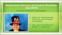 What Are Requirements Discovery and Analysis Workshops (aka JAD, JRP, JAR, JAD R)