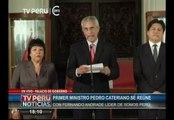 Pedro Cateriano recibirá voto de confianza de Somos Perú