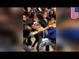 Brooklyn McDonald's beatdown: Teens beat girl silly while crowd eggs them on