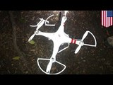 White House drone crash: drunk government employee crash lands Quadcopter on Obama's lawn