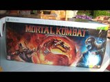 UNBOXING/déballage mortal kombat édition ultimate collector version xbox 360 HD