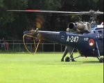 Aérospatiale Alouette III SA-316 Royal Blue Start