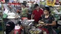 Ben Thanh Market food stalls, Saigon