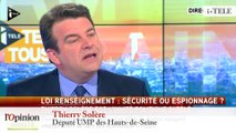 """TextO' : Bernard Cazeneuve : """"Il n'y a pas de surveillance de masse de la part des services français"""""""